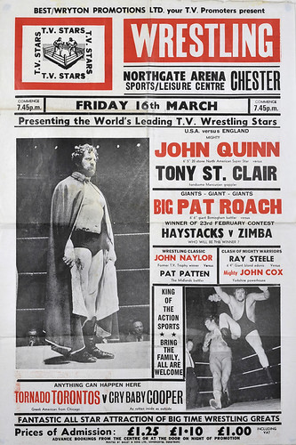 wrestling poster, chester | by maraid