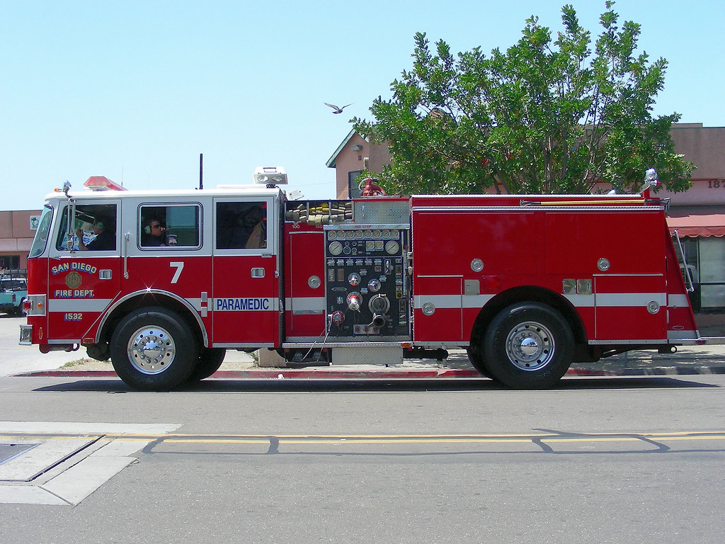 the fire engine - photo #49
