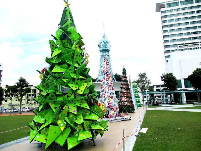 Christmas Trees, Sibu Town Square 2016 2