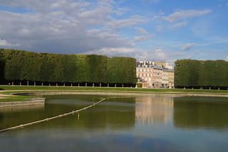 162 Kasteel van Versailles tuinen