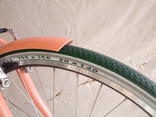 Mmmm Green tires | by boulevard.bikes