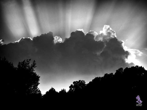 A sunset in black and white | by Tennessee_Gator