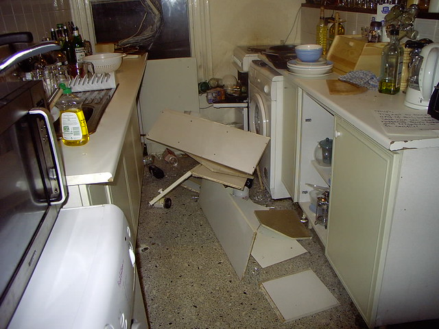 Having Kitchen Cabinets Repainted Must I Do Inside
