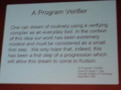 Verificación de programas