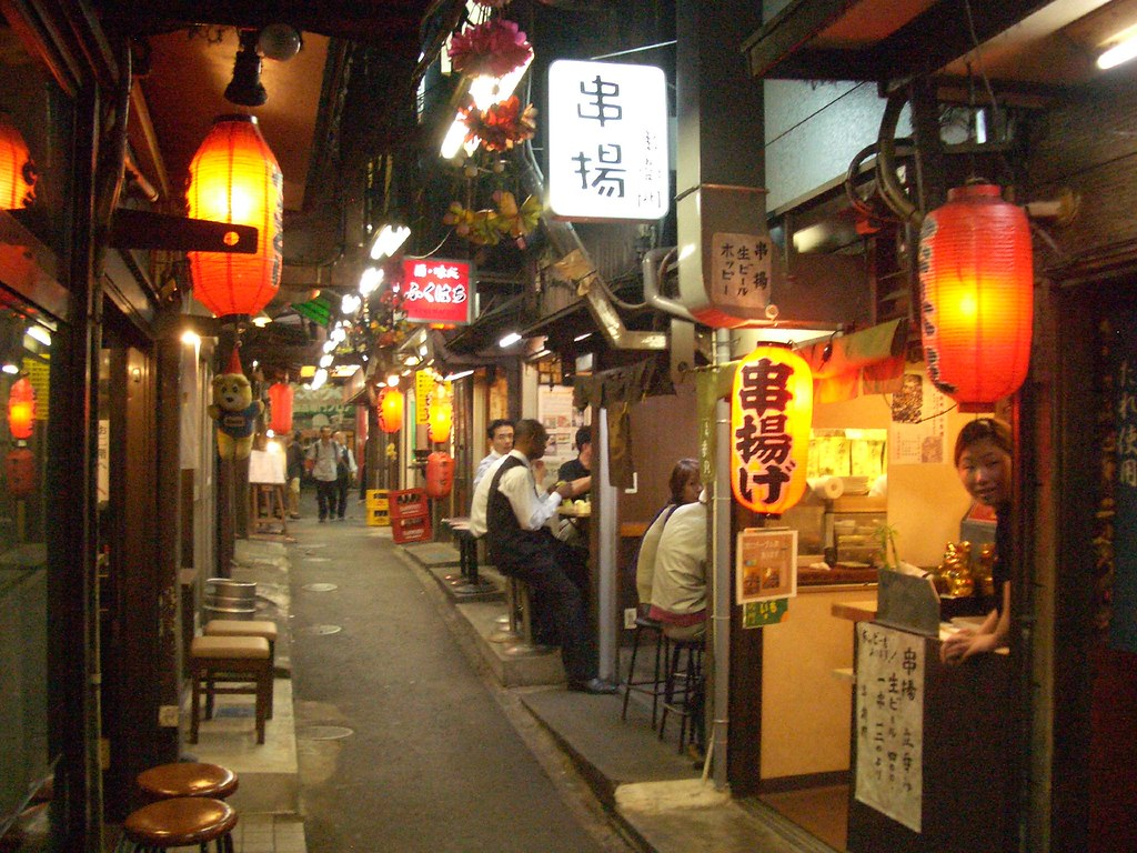 Restaurant Alley In Shinjuku Tokyo Marc Smith Flickr