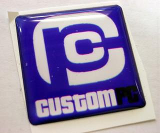 Computer case badges nude