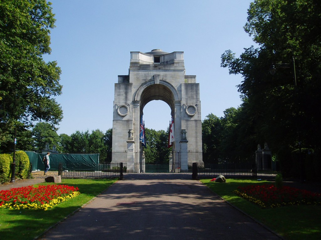 War Memorial   War Memorial, Victoria Park, Leicester by ...