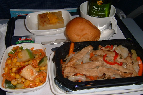 KLM Economy Class Dinner | KLM 878 from Taipei to Bangkok | Flickr