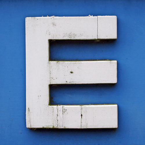 letter E | by Leo Reynolds
