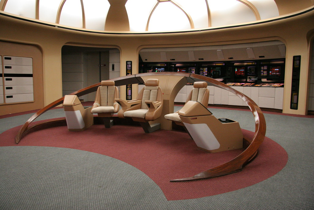 Enterprise D Bridge This Is The Picture Of The Actual