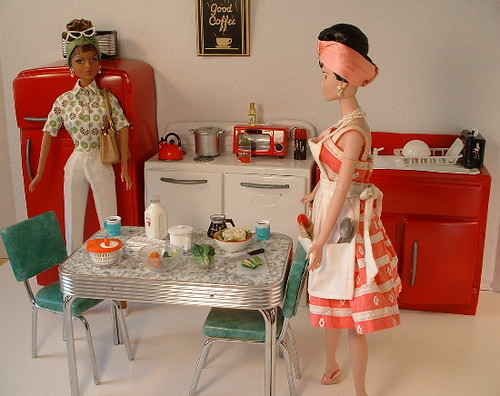 cool barbie vintage kitchen set cheryl harpel flickr