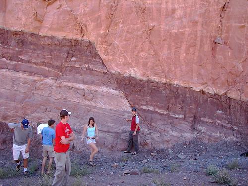 Normal Fault At The Moab Roadcut Jesse Varner Flickr