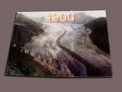 1900 - 2004 - the glaciers are going | by pieceoplastic