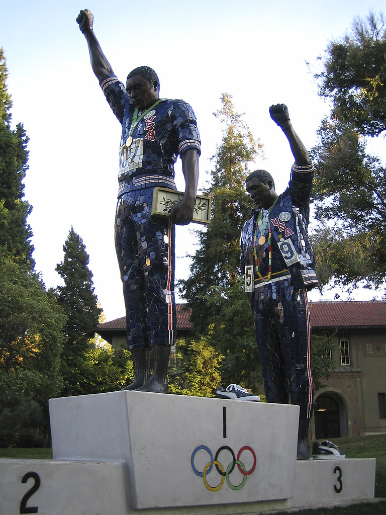 Tommie Smith  John Carlos Statue