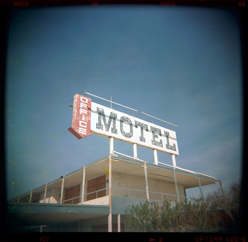 abandoned motel. salton sea, ca. 2000. | by eyetwist