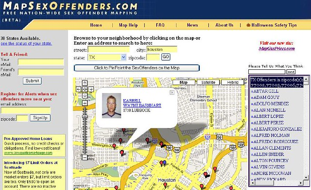 Nation offender search sex wide