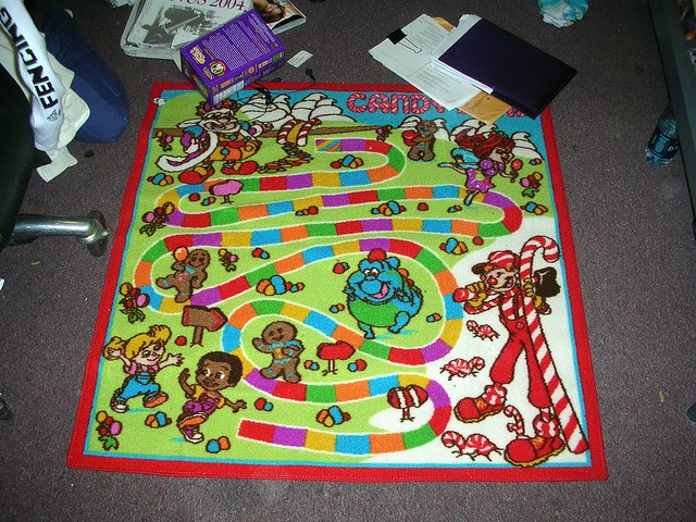 Candyland We Got A Rug And By We I Mean Jess Got One