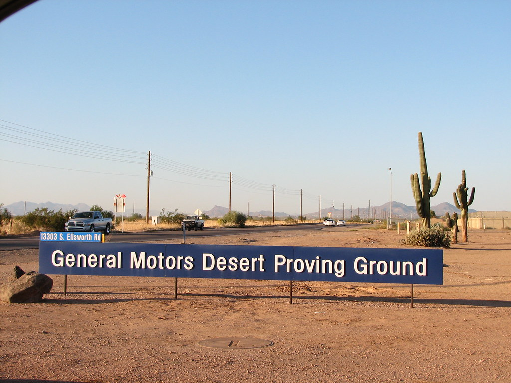 General Motors Desert Proving Ground From Wikipedia By De Flickr