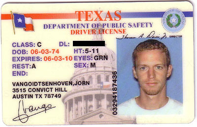 texas drivers license check
