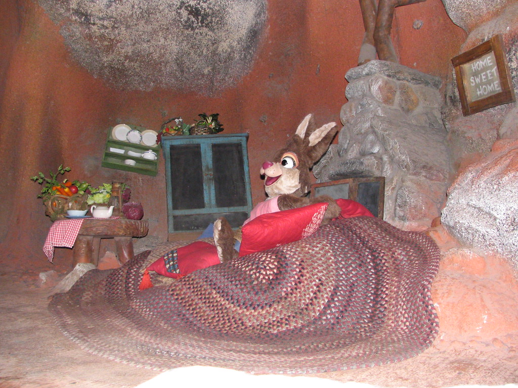 Brer Rabbit, Splash Mountain | M P R | Flickr