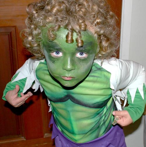 Kids Hulk Halloween Costume