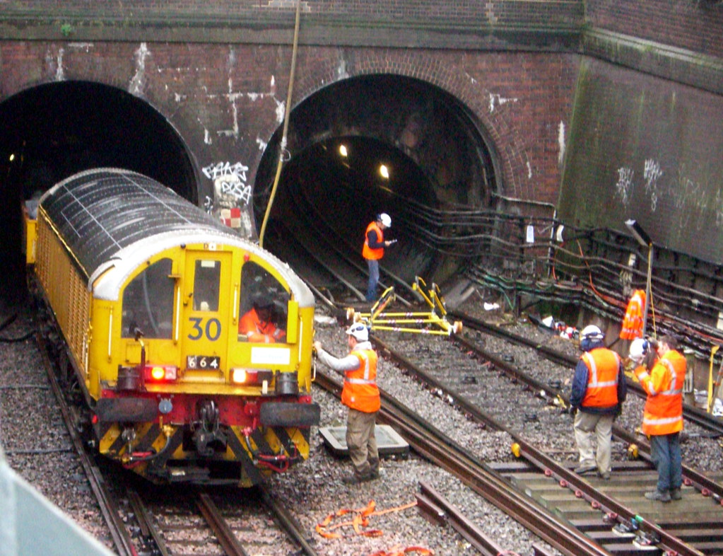 London Underground Track Replacement They Were Replacing