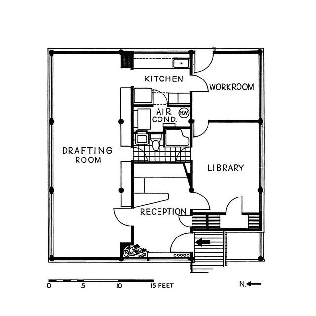 Armstrong Architecture Office -- Floor Plan
