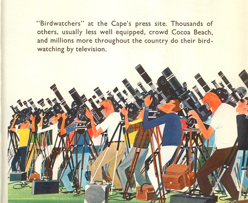 This is Cape Canaveral: birdwatchers | by wardomatic