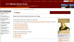 Keep Up! Electronic Resources Web Page | by libraryman