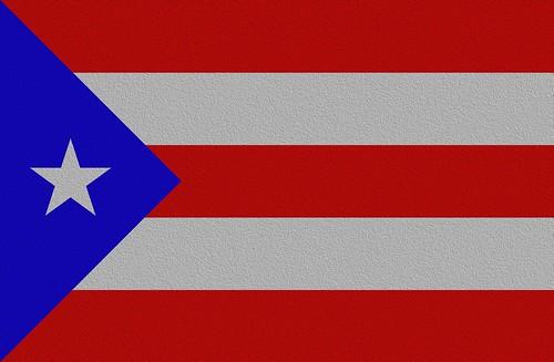 Puerto Rican flag, cloth