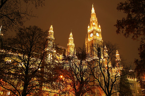 golden city hall in Vienna | by Berat