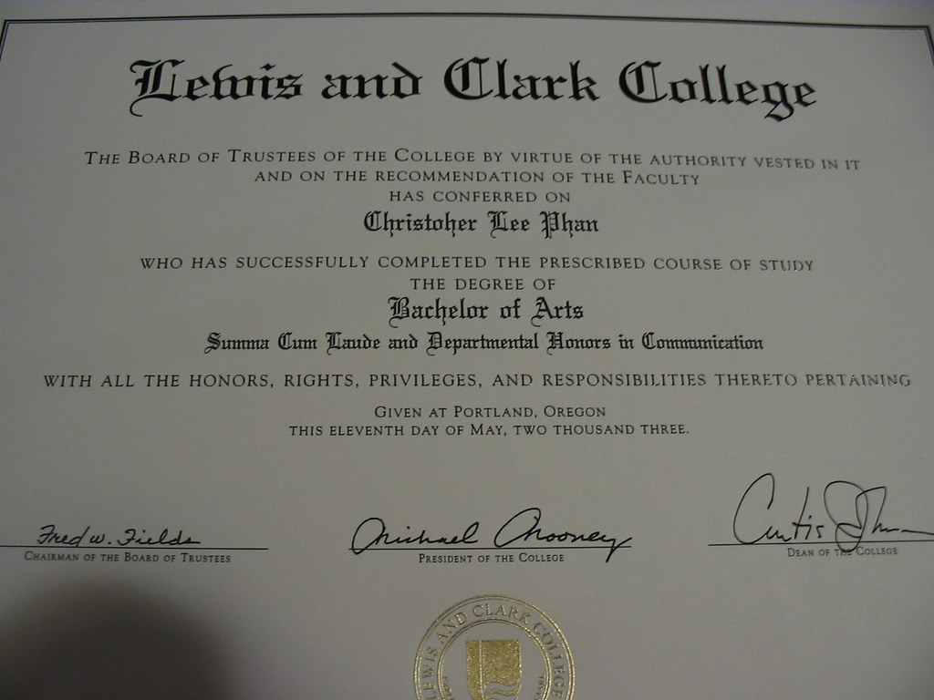 My Bachelors Degree It Wasnt Until A Year Later Than I N Flickr
