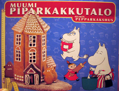 Moomin Gingerbread House kit | It's amazing all the stuff yo ...