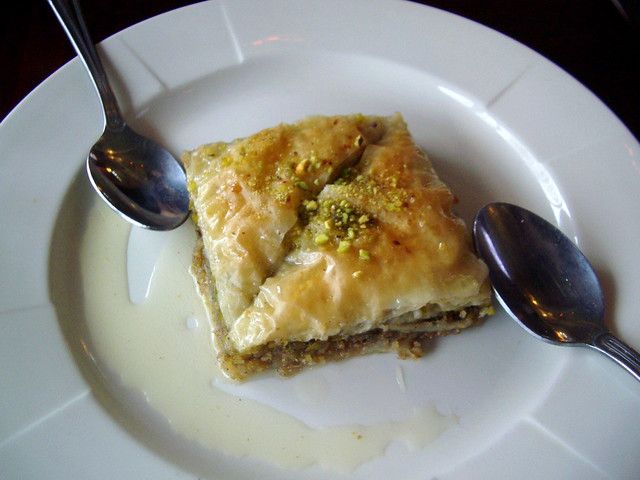 Orange Blossom Water Baklava Recipe