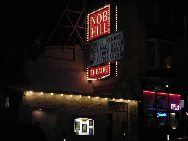 nob hill theater san francisco california