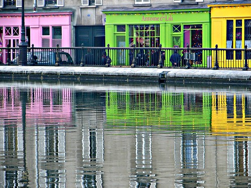 Paris, Strolling along canal St Martin | by Julie70 Joyoflife
