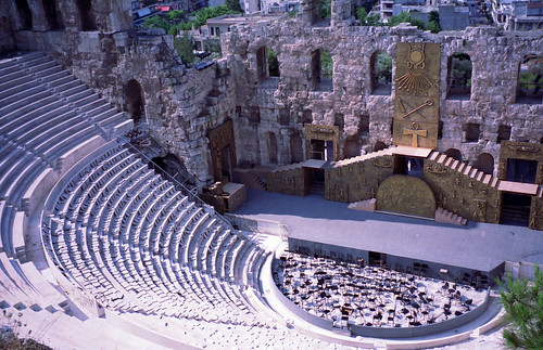 Odeon of Herodes Atticus, Athens, Greece | by Trig's