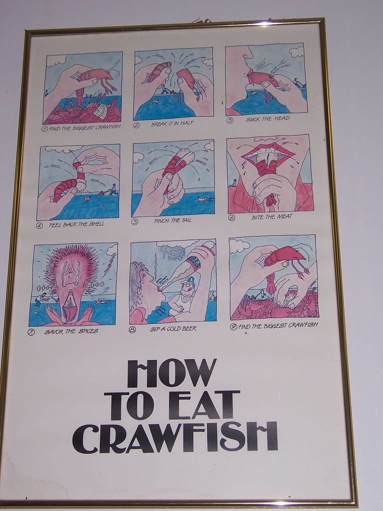 How To Eat Crawfish  By Kawolanin