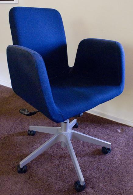 ... Ikea Patrik Blue Desk Chair *SOLD*   By Nongravity