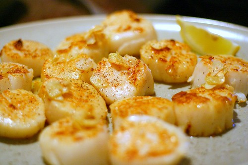 pan-seared fattie scallops | by smitten kitchen