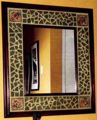 miroir hall d 39 entr e 24 x 32 conception sur mesure pour flickr. Black Bedroom Furniture Sets. Home Design Ideas