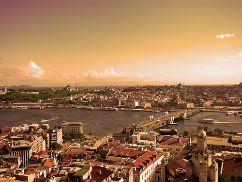 The view from the Galata Tower, Istanbul I | by eftimov-schenk-schwartz