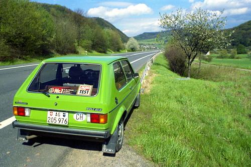 Vw Golf Gls 1976 In 1982 1982 In Hessen Mein Erstes Auto