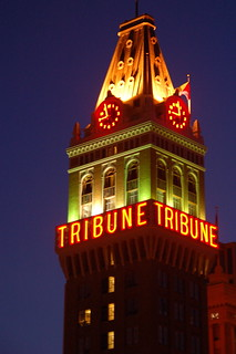 Tribune Tower at Night | by Brooke Anderson