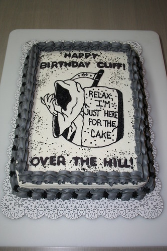 Cake Decorating Ideas For Over The Hill