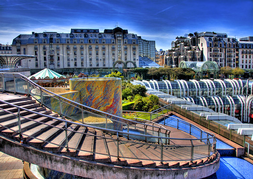 """forum des halles"" in Paris 