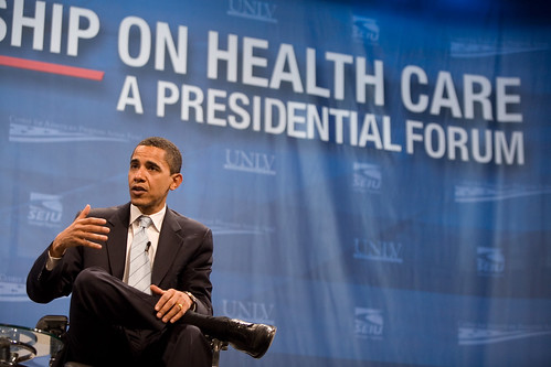 Barack Obama at Las Vegas Presidential Forum | by Center for American Progress Action Fund