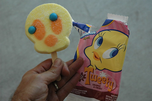 Tweety Bird popsicle | by Frauenfelder