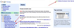 Google Gears with Google Reader | by rustybrick