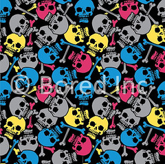 Skull Print | by BoredInc